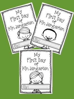My First Day of K: A First Day of Kindergarten Memory Book
