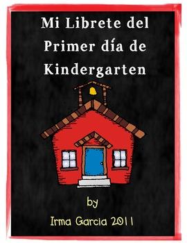 My First Day of Kindergarten in Spanish