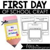 My First Day of School {A Keepsake Book}