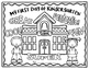 My First Day of School Keepsake Coloring Pages {My Monthly