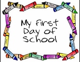 My First Day of School Sign