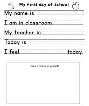 My First Days of Preschool