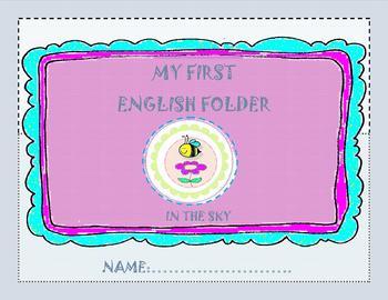 My First English Folder