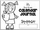 My First Grade Calendar Journal - September