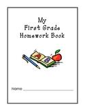 My First Grade Homework Book