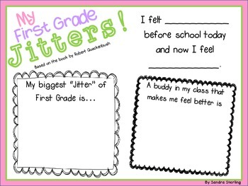 My First Grade Jitters!