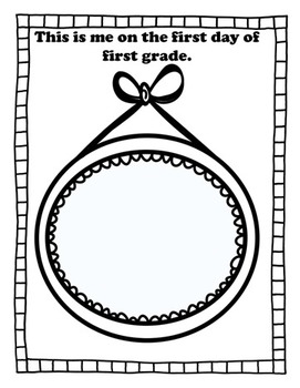My First Grade Memory Book