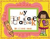 My First Grade Scrapbook