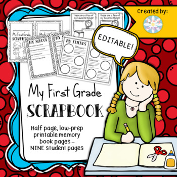 Scrapbook Memories Worksheets Teaching Resources Tpt