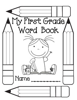 My First Grade Word Book/Dictionary