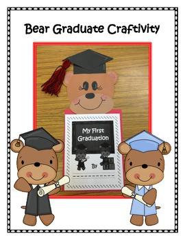 My First Graduation Memory Book and Craftivity for Preschool or Kindergarten