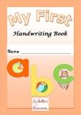 My First Handwriting Book