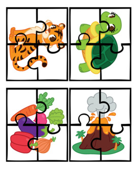 100 Puzzles - Kinder Kids
