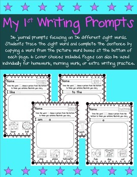 My First Journal Prompts