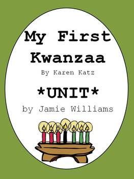 My First Kwanzaa Book Unit