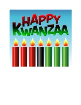 My First Kwanzaa