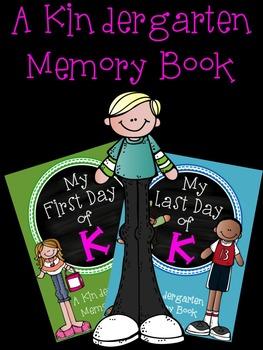 My First & Last Day of K: Kindergarten Memory Book Bundle