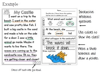 My First Making Inferences - Close Reading - BUNDLE