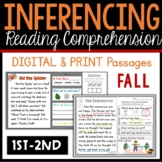 My First Making Inferences - Close Reading - Fall