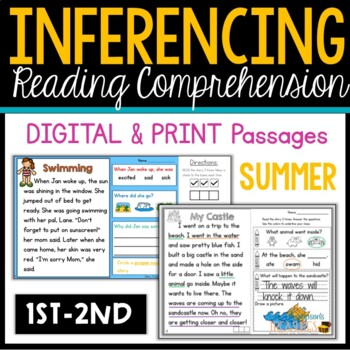 My First Making Inferences - Close Reading - Summer