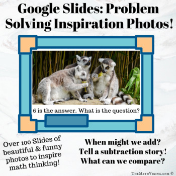 My First Math Story: Scaffolding student created word problems! Numberless Fun