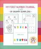 My First Number Journal {1-10}