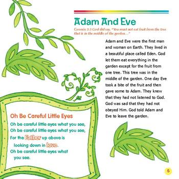 My First Old Testament Bible StoriesRead-Along eBook & Audio Track