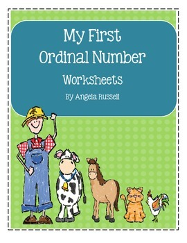 My First Ordinal Number Worksheets