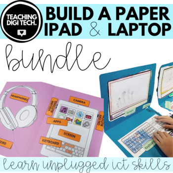 How To ✂️Make Apple 💻Laptop For Kids From 📦Cardboard | Recycle ... | 350x350