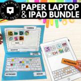 My First Laptop & iPad Paper Craft BUNDLE - DigiTech ACTDIK001