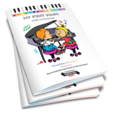 My First Piano: Play Fun Songs With Colorful Codes For Kid