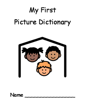 My First Picture Dictionary - Basic Words and School Vocabulary