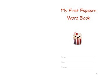 My First Popcorn Word Book