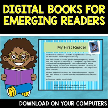 Digital Books for Emerging Readers