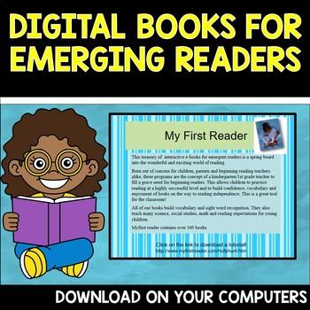 Digital Books for Emerging Readers