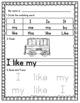 Emergent Readers - My Little Readers Set 1 - Guided Reading