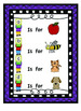 """My First Readers Theatre""  Learning My Letters With Characters A to Z BUNDLE"