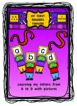 """""""My First Readers Theatre""""  Learning My Letters With Chara"""