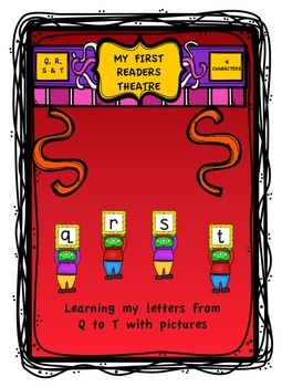 """My First Readers Theatre"" Learning My Letters With Characters Q, R, S & T"