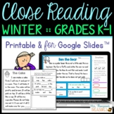 My First Close Reading - January, February, March