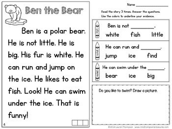 Reading Comprehension for Beginners - Winter {January, February, March}
