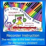 My First Recorder Book, Teacher's Guide