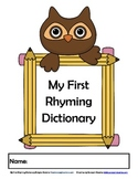 My First Rhyming Dictionary