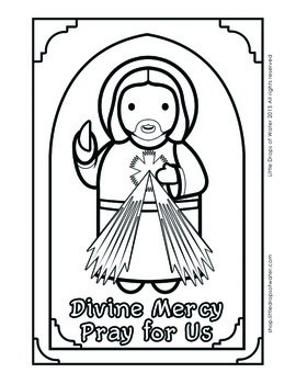 My First Saints Coloring Book 33 Pages