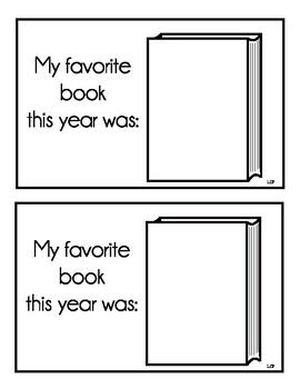 My (First, Second, Third) Grade Memory Book