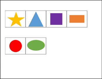 My First Shapes and Colors Matching Book for Life Skills (level 1) and Preschool