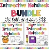 My First Sight Word and Alphabet Interactive Notebook BUNDLE