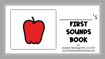 My First Sounds Book