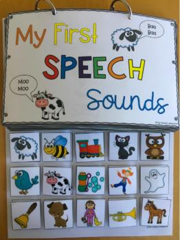 My First Speech Sounds: An Interactive Articulation Book