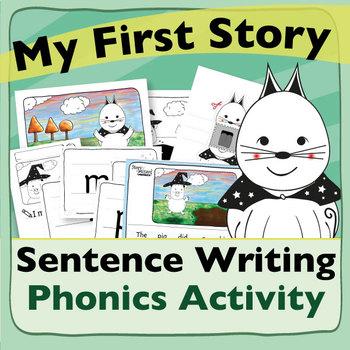 My First Story – Sentence Writing Phonics Activity